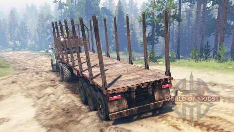 Ural-4320 [Traktor] für Spin Tires