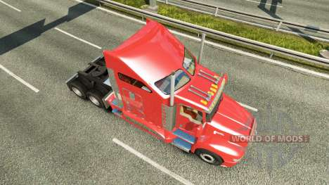 Kenworth T660 [fix] pour Euro Truck Simulator 2