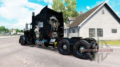 Motorhead peau pour le camion Peterbilt 389 pour American Truck Simulator