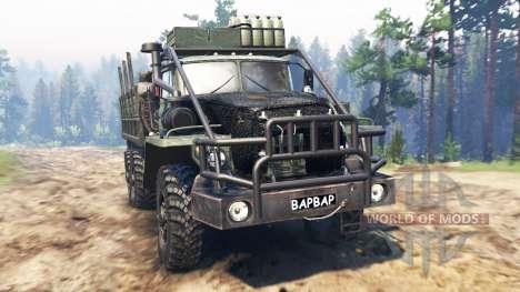 Ural-4320-30 [Barbar] für Spin Tires