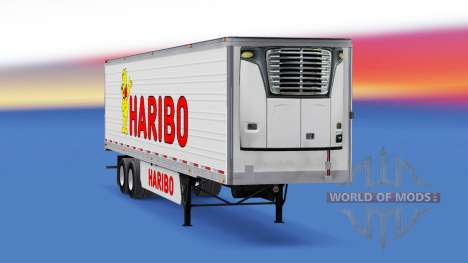 La peau Haribo sur la remorque pour American Truck Simulator