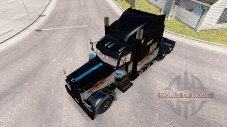 De la peau à Long-Courriers pour le camion Peter pour American Truck Simulator