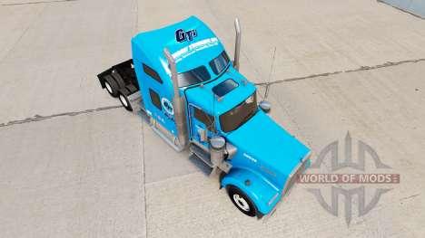 Gordon Camionnage de la peau pour Kenworth W900  pour American Truck Simulator