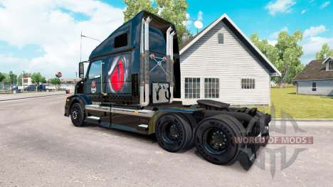 Le venin de l'Énergie de la peau pour les camion pour American Truck Simulator