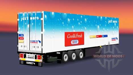 Der kühl-Auflieger-Schmitz Cargobull für Euro Truck Simulator 2