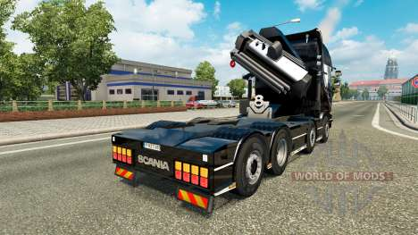 Chassis 8x4 Scania v1.1 pour Euro Truck Simulator 2