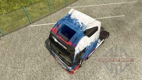 La russie de la peau pour Volvo camion pour Euro Truck Simulator 2