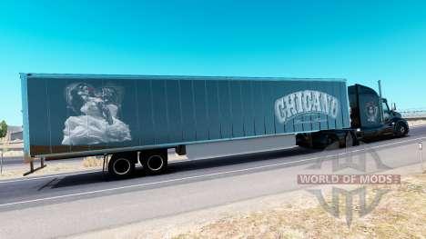 Chicano de la peau pour le camion Peterbilt pour American Truck Simulator