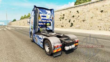 L'Uruguay Copa 2014 de la peau pour Volvo camion pour Euro Truck Simulator 2