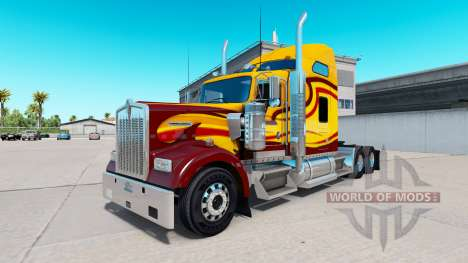 La peau Survivant camion Kenworth W900 pour American Truck Simulator