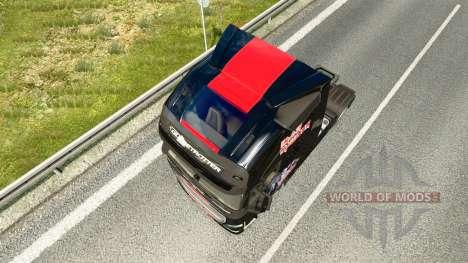 Iron Maiden-skin für den Volvo truck für Euro Truck Simulator 2