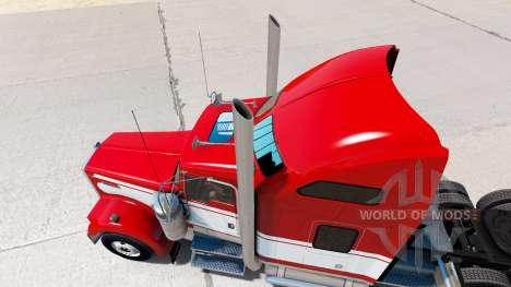 Eine Sammlung von Zubehör für den Traktor Kenwor für American Truck Simulator