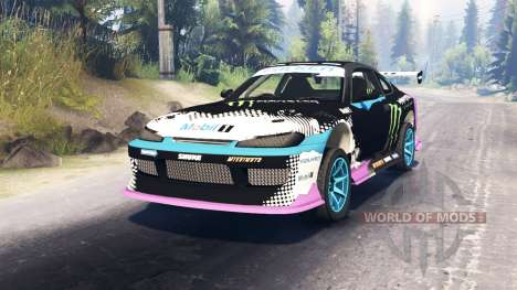 Nissan Silvia S15 Drift pour Spin Tires
