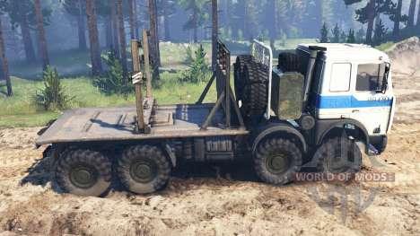 MZKT-7401 2004 v2.0 für Spin Tires