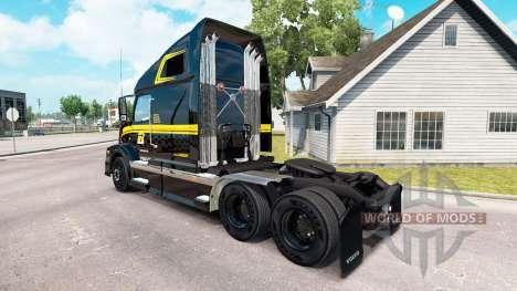 Haut auf Groupe Robert truck-Volvo VNL 670 für American Truck Simulator