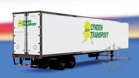All-Metall-semi-Lynden für American Truck Simulator