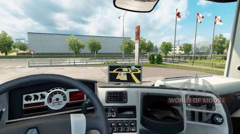 Navigateur GPS pour Renault pour Euro Truck Simulator 2