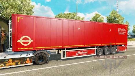 Semi-trailer tipper Bodex v2.0 für Euro Truck Simulator 2