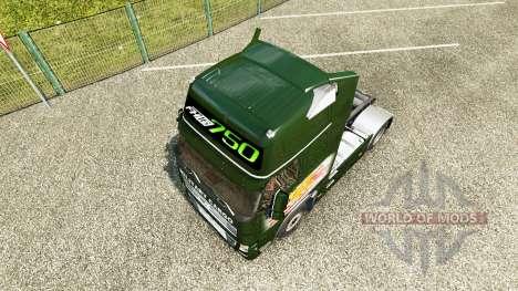 Military Cargo skin für Volvo-LKW für Euro Truck Simulator 2