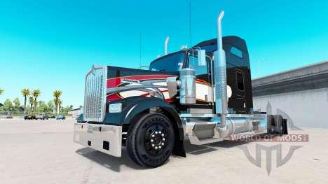 Haut auf Aarons truck Kenworth W900 für American Truck Simulator