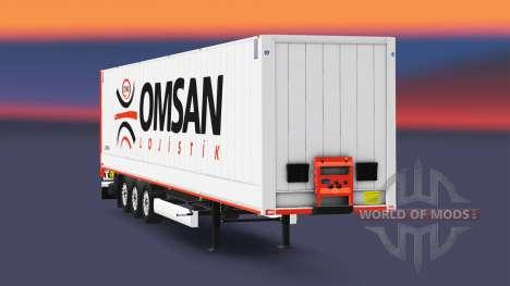 La semi-remorque-fourgon Krone Dryliner v3.0 pour Euro Truck Simulator 2