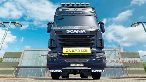 Oversize Sign für Euro Truck Simulator 2