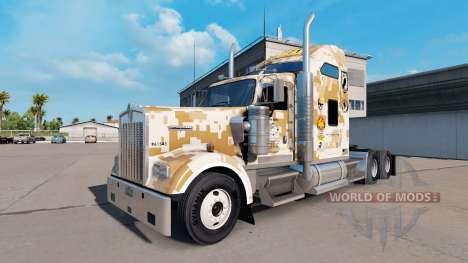 Haut Marines Combat Engineers der Kenworth truck für American Truck Simulator