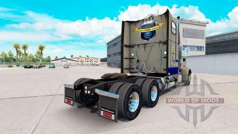 La peau Leavitts sur le camion Freightliner Clas pour American Truck Simulator