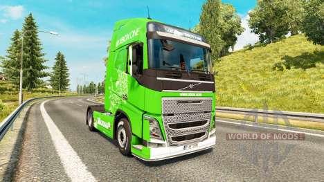 Xbox One de la peau pour Volvo camion pour Euro Truck Simulator 2