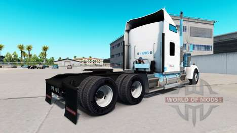 La peau sur le Sysco camion Kenworth W900 pour American Truck Simulator