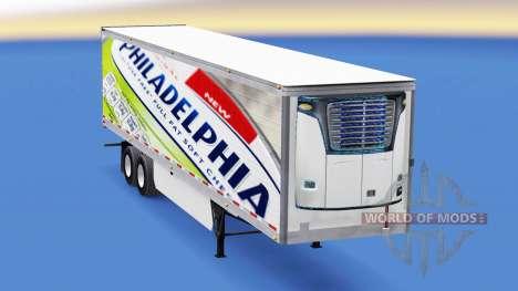 Haut-Philadelphia auf dem Anhänger für American Truck Simulator
