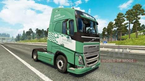 Cologne peau pour Volvo camion pour Euro Truck Simulator 2