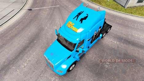 Pulp Fiction de la peau pour le camion Peterbilt pour American Truck Simulator