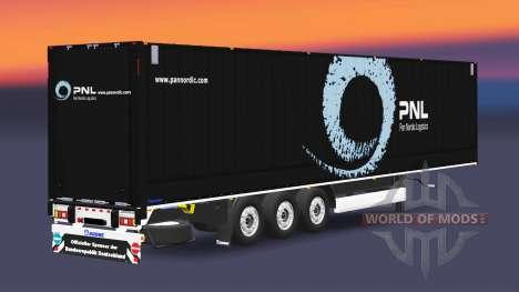 Die Auflieger-van Krone Dryliner v3.0 für Euro Truck Simulator 2