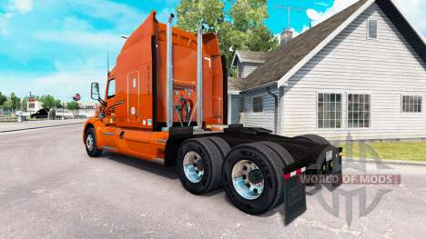 Haut-Schneider National truck Peterbilt für American Truck Simulator