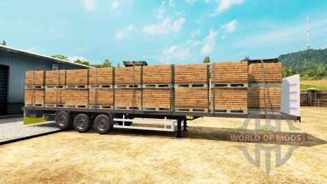Semitrailer Wielton platform für Euro Truck Simulator 2