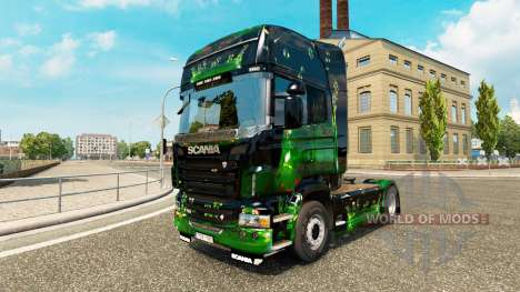 Des œuvres d'art de la peau pour Scania camion pour Euro Truck Simulator 2
