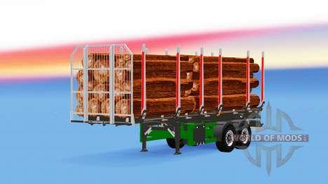 Klein, semi-trailer truck für American Truck Simulator