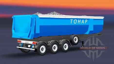 Ein semi-LKW-Tonar für Euro Truck Simulator 2