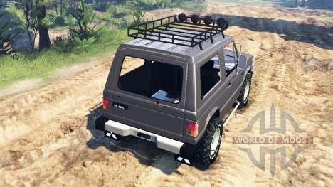 Mitsubishi Pajero I v4.0 pour Spin Tires