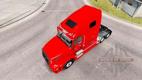 Haut-Home-Run für den truck-Volvo VNL 670 für American Truck Simulator
