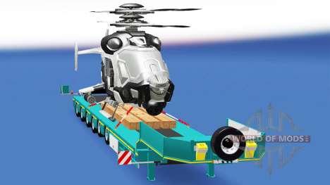Low sweep mit einer cargo-Hubschrauber AH-50 C.  für American Truck Simulator