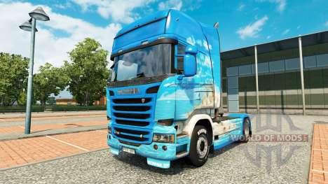Haut Klanatranas auf Zugmaschine Scania für Euro Truck Simulator 2