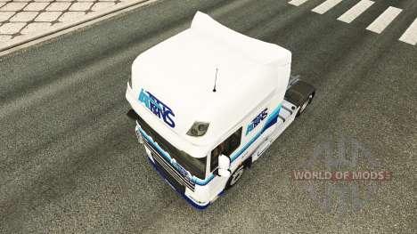 Italtrans de la peau pour DAF camion pour Euro Truck Simulator 2