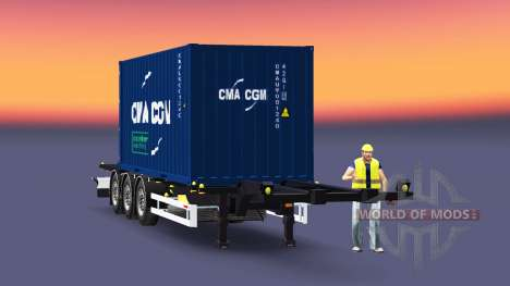 Semi-container Sommer pour Euro Truck Simulator 2