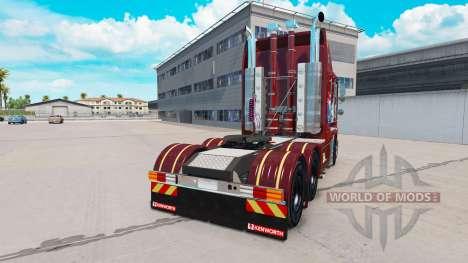 La peau RM Williams sur le tracteur Kenworth K20 pour American Truck Simulator