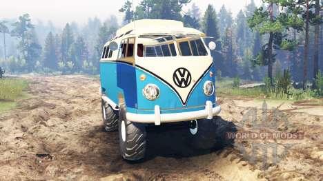 Volkswagen Transporter T1 für Spin Tires