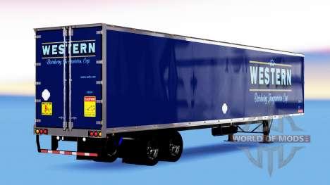 All-Metall-semi-Western für American Truck Simulator