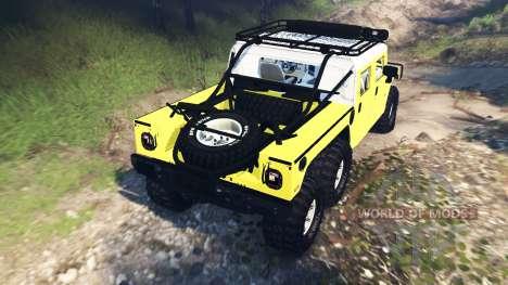 Hummer H1 6x6 Raptor v3.0 pour Spin Tires