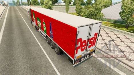 La peau Persil sur la remorque pour Euro Truck Simulator 2